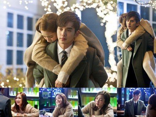 """Aparecen nuevas imágenes de """"Remember"""" que dan pistas sobre el comienzo de un posible romance entre Yoo Seung Ho y Park Min Young"""