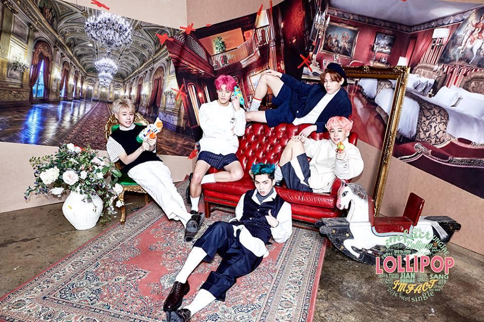 """El nuevo grupo masculino de Star Empire, IMFACT, revela imágenes teaser para su debut con """"Lollipop"""""""
