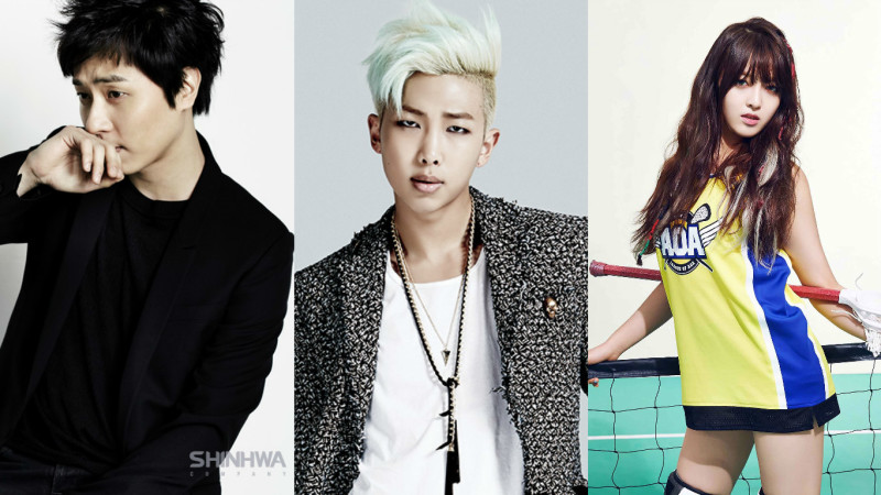 Andy, Rap Monster, Chanmi, entre otros aparecerán en un programa de canto por el año nuevo lunar