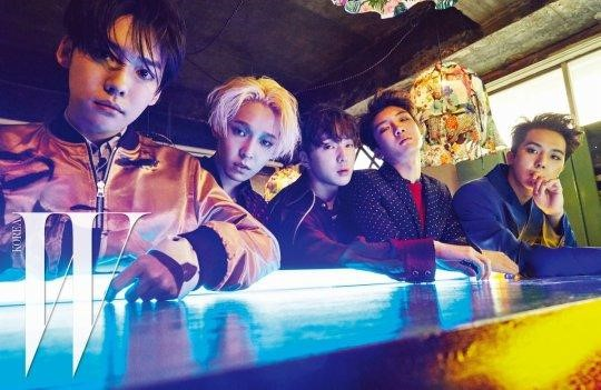 """WINNER posa la nueva sesión fotográfica para """"W Korea"""""""