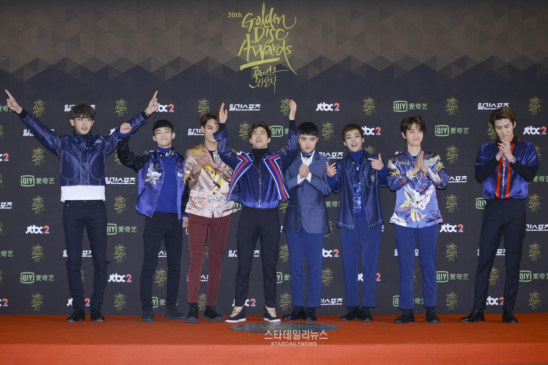 EXO comenta sobre sus 13 premios Daesang desde su debut