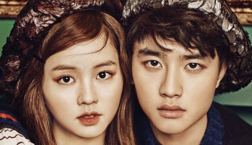 D.O y Kim So Hyun lucen elegantes para Vogue