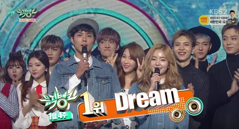 """Baekhyun y Suzy obtienen la victoria por """"Dream"""" en """"Music Bank"""" + Presentaciones"""