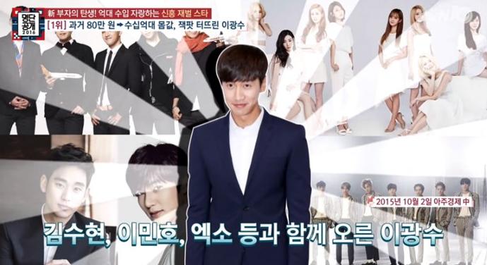 Lee Kwang Soo es la nueva estrella chaebol