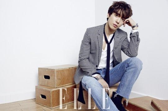 "Jung Yong Hwa es la primera celebridad masculina coreana en aparecer en la portada de ""Elle China"""