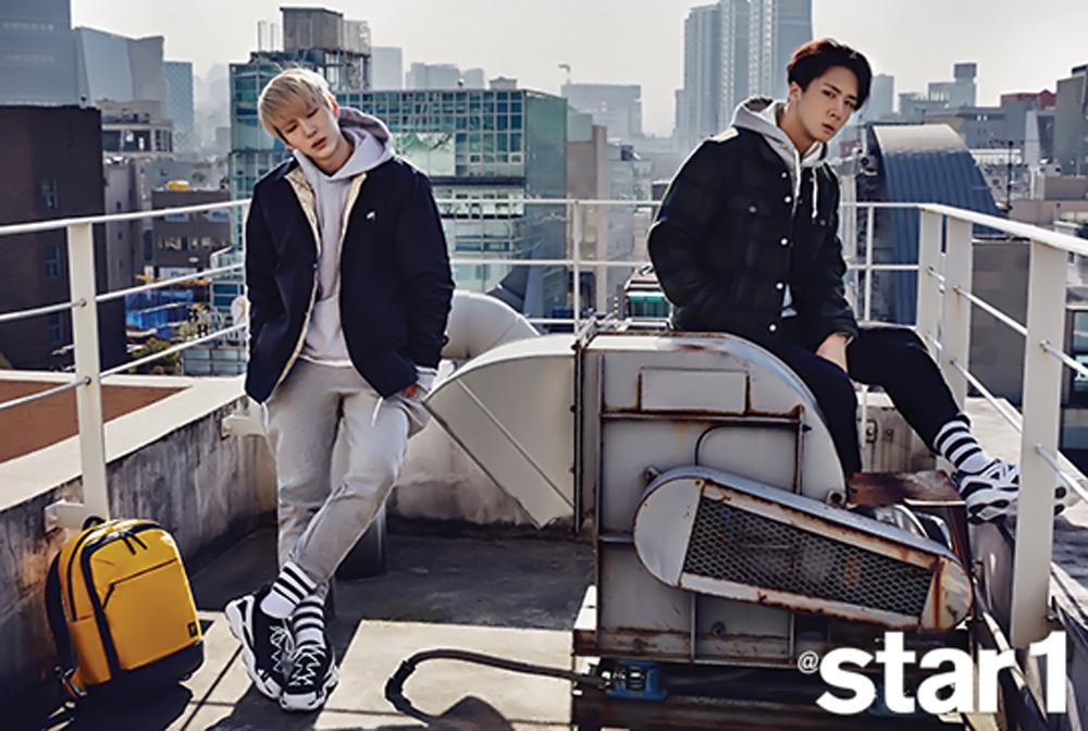 """Leo y Ravi de VIXX LR comparten sus opiniones sobre su concepto único para la revista """"@Star1"""""""
