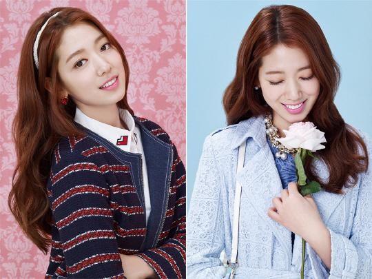 Park Shin Hye se ve perfecta en pastel para sesión de fotos con Roem
