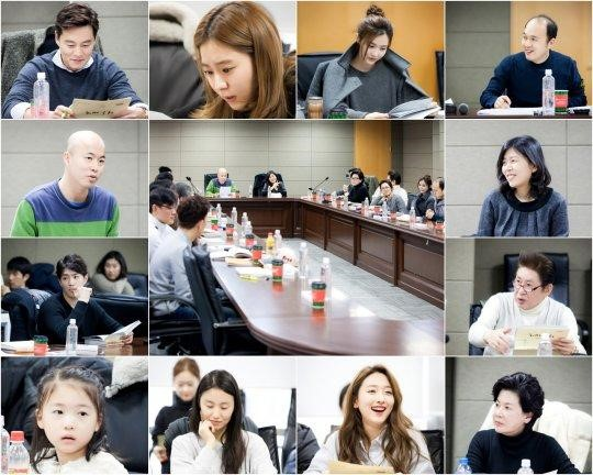 """Marriage Contract"" con Lee Seo Jin y Uee realiza su primera lectura de guión"