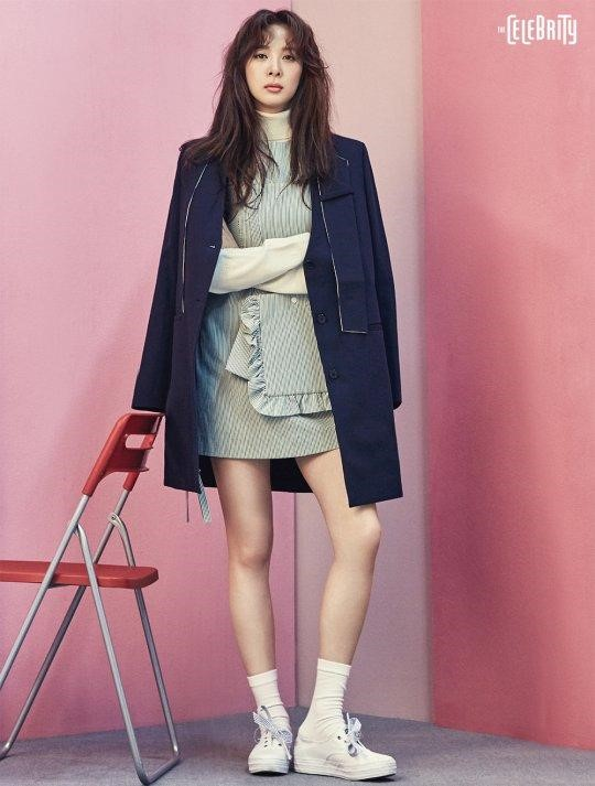 """Lee Chung Ah combina la moda y amistad en sesión fotográfica con """"The Celebrity"""""""