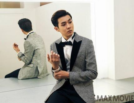 El actor Choi Woo Shik posa para la revista Max Movie