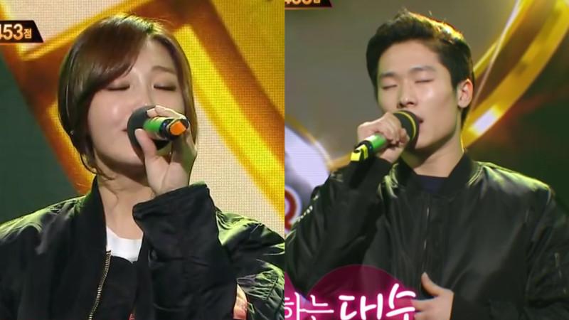 """Jung Eun Ji de A Pink y su compañero de dueto realizan una impresionante colaboración en """"Duet Music Festival"""""""