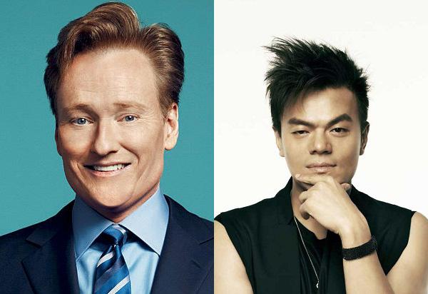 Park Jin Young colaborará en un proyecto especial con Conan O'Brien