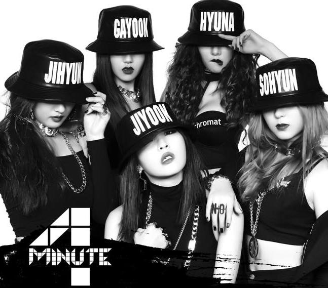4Minute promete un evento de abrazos gratis si alcanzan el primer lugar en algún programa de música