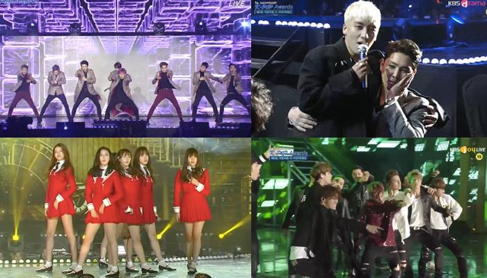 Las presentaciones del 5th Gaon Chart K-pop Awards