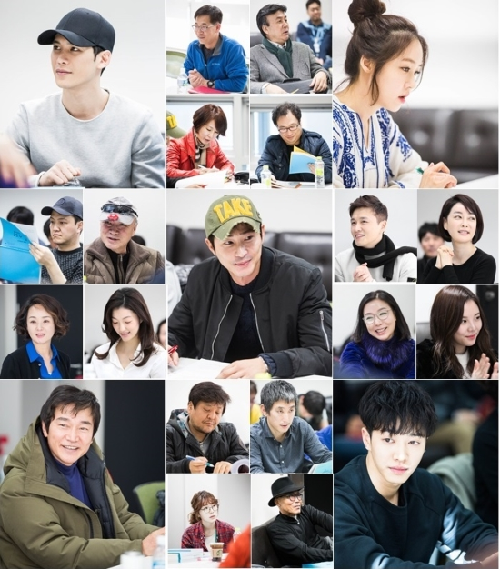 """Revelan imágenes de la primera lectura de guión del próximo drama de MBC """"Monster"""""""
