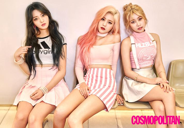 AOA Cream dulces y sensuales para Cosmopolitan