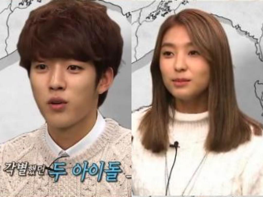 """Sungyeol de INFINITE y Bora de SISTAR explican su cercana relación en """"Law of the Jungle"""""""