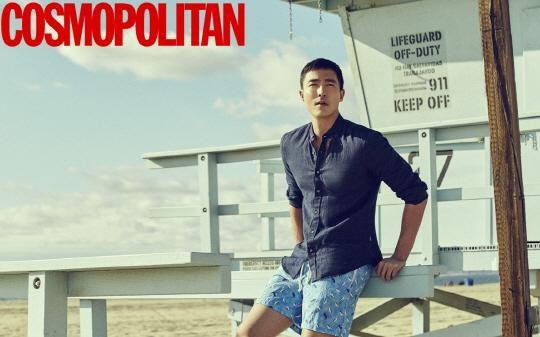 Daniel Henney se ve guapo en California para Cosmopolitan