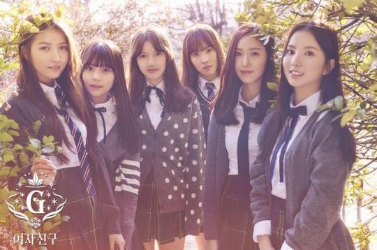 """GFRIEND domina las listas musicales en Corea con """"Rough"""""""