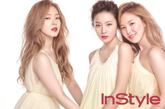 Red Velvet se transforma en hadas de la primavera para InStyle