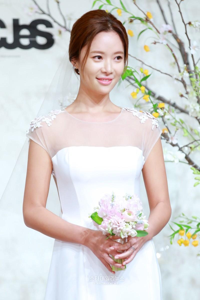 Hwang Jung Eum se ha casado hoy