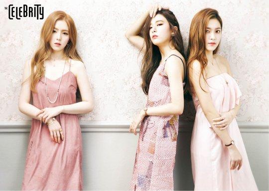 Red Velvet se tranforman en hermosas muñecas en sesión fotográfica para The Celebrity