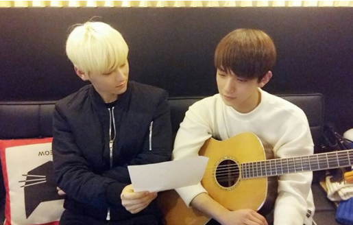"""[Actualizado] Minhyun de NU'EST y Joshua de SEVENTEEN liberan versión acústica de """"Overcome"""""""