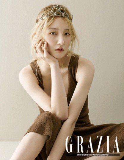 Jihyun de 4Minute exuda belleza natural para Grazia