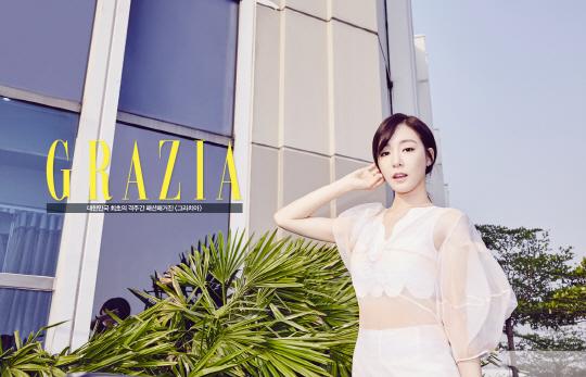 Tiffany de Girls' Generation luce impresionante en sesión fotográfica realizada en Bangkok