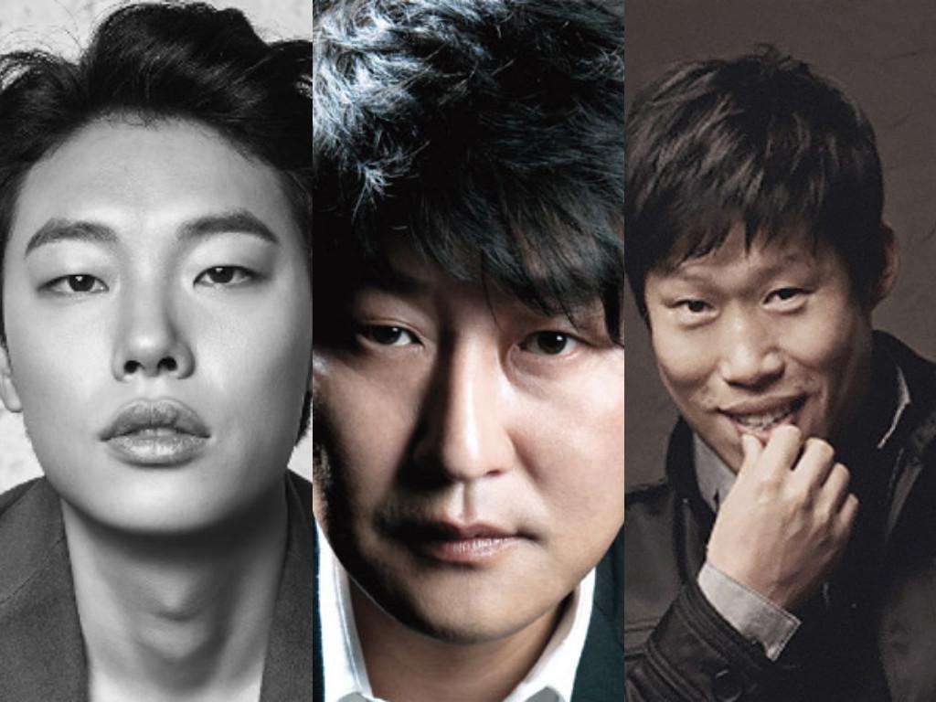 Ryu Jun Yeol, Song Kang Ho y Yoo Hae Jin unen fuerzas para una película