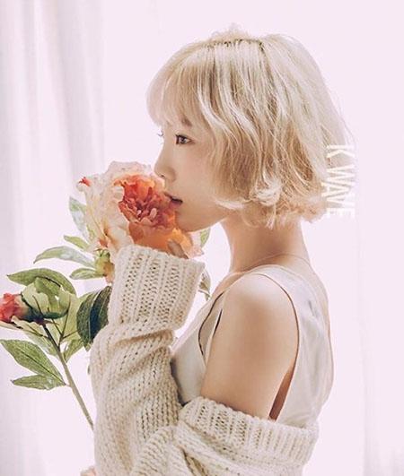 Taeyeon es cada día más hermosa para la revista K WAVE