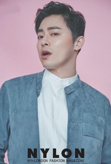 Jo Jung Suk con un look juvenil para la revista Nylon