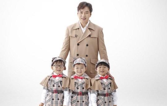 Song Il Gook y los trillizos extienden su contrato con Minute Maid