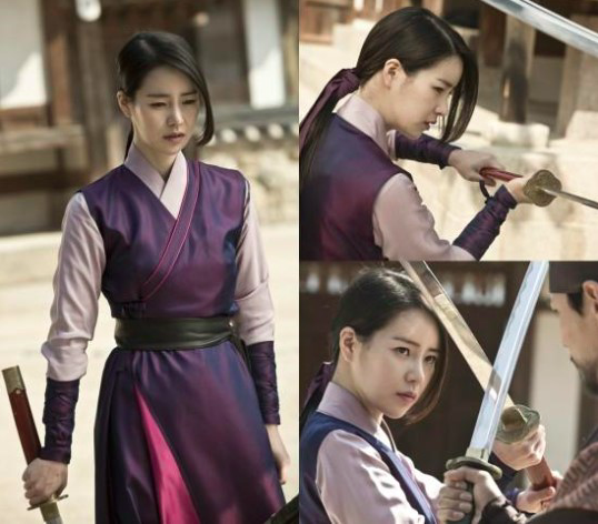 """Lim Ji Yeon utiliza la espada de la venganza en imágenes reveladas de """"Jackpot"""""""