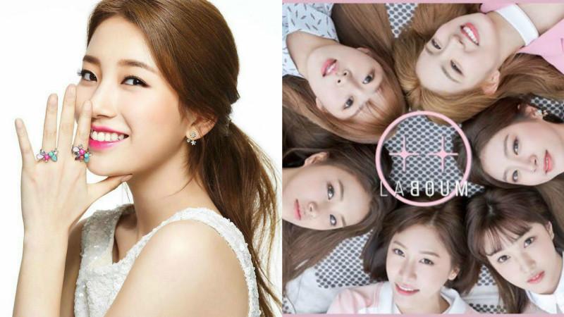 Suzy muestra un dulce apoyo por un grupo junior femenino en Instagram