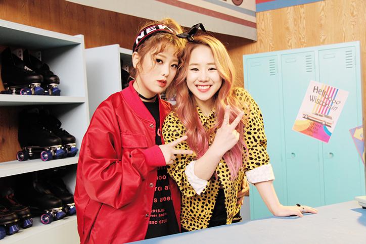 "U Sung Eun y Kisum revelan el video musical de ""Jealousy"""