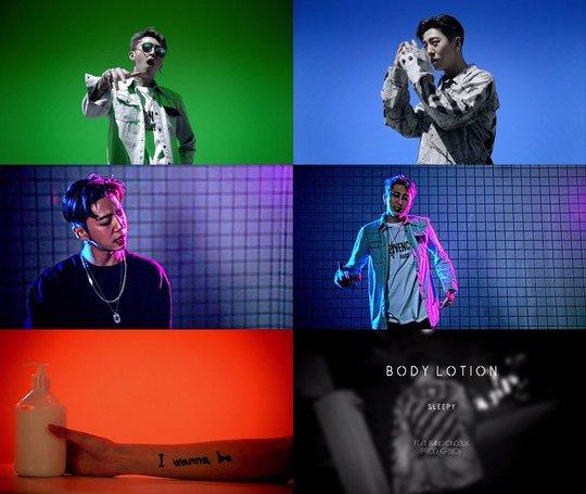 "Sleepy lanza MV de ""Body Lotion"" con la colaboración de Bang Yong Guk"