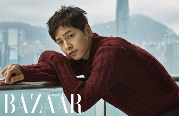 """Song Joong Ki aparecerá en la próxima edición de la revista """"Harper's Bazaar"""""""