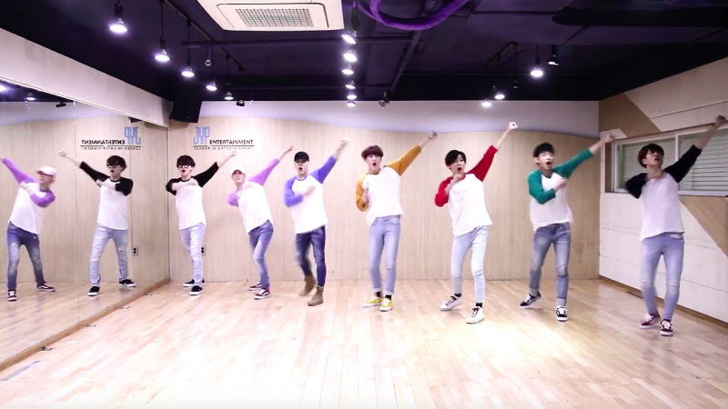 "GOT7 comparte divertido vídeo practica para ""Home Run"""