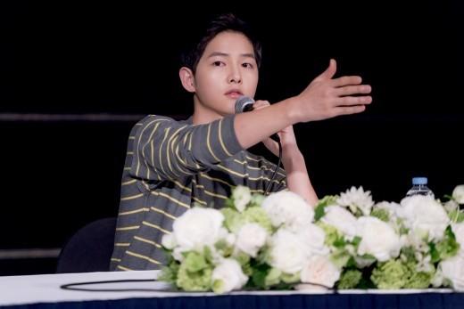 Song Joong Ki desea que la gente respete su privacidad