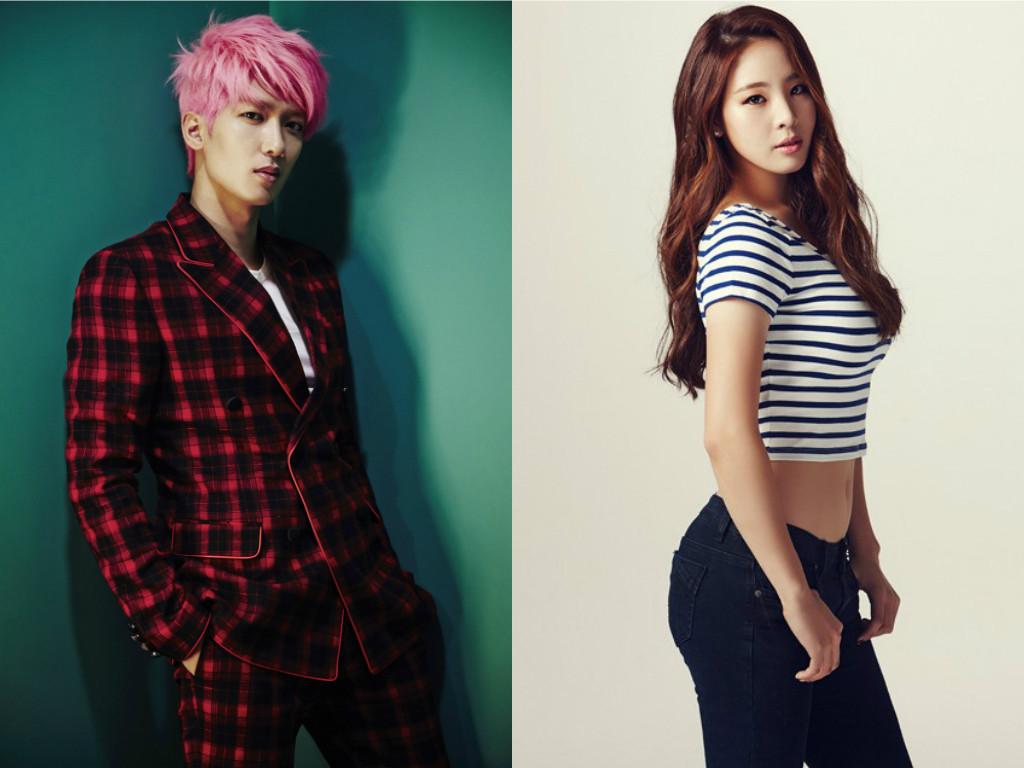 Los rumores de citas entre Jungmo de TRAX y la ex-gimnasta Shin Soo Ji no son ciertos