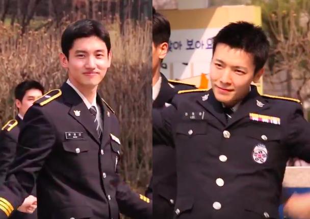 Changmin de TVXQ y Donghae de Super Junior hacen campaña en contra de la violencia en el colegio