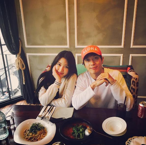 Jung Yong Hwa tiene una dulce reunión con Moon Ga Young