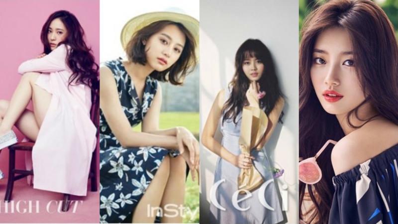 Ídolos y actrices modelan cuatro tendencias para el caluroso verano