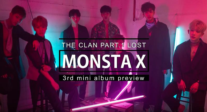[Actualizado] MONSTA X revela popurrí de canciones para su próximo álbum