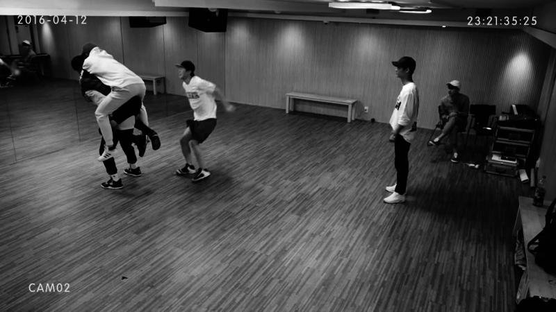 "VIXX publican la práctica de baile de ""Dynamite"""