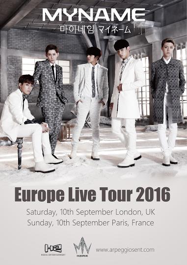 MYNAME revela detalles de su concierto en París el 11 de septiembre