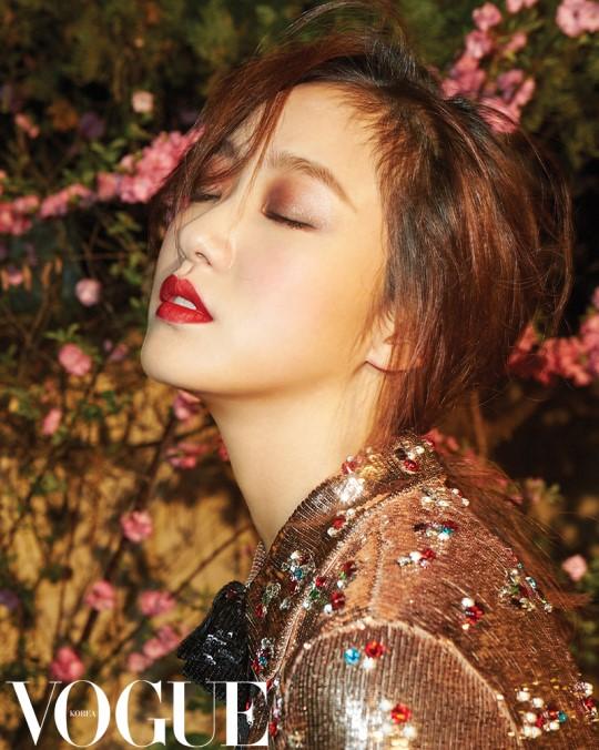 """Kim Go Eun revela detalles de su película a través de la revista """"Vogue"""""""
