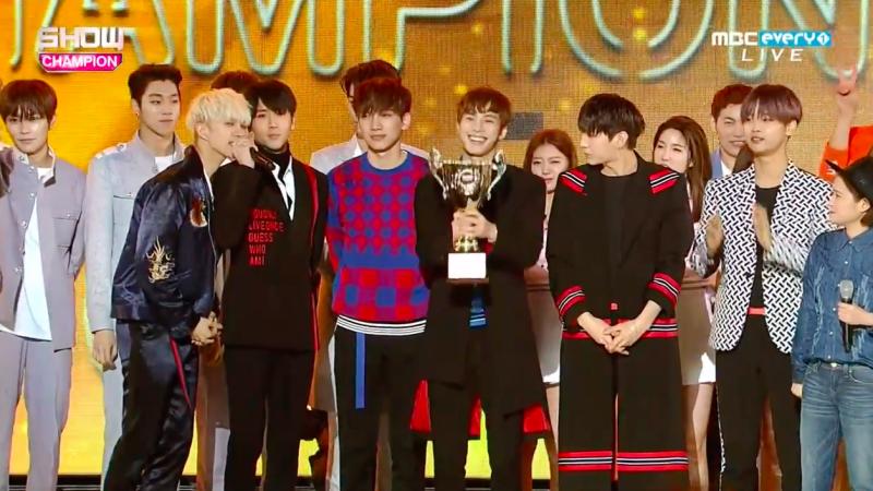 """VIXX se lleva su segundo trofeo con """"Dynamite"""" en """"Show Champion"""", presentaciones de Yesung, Jung Eun Ji, NCT U, y más"""
