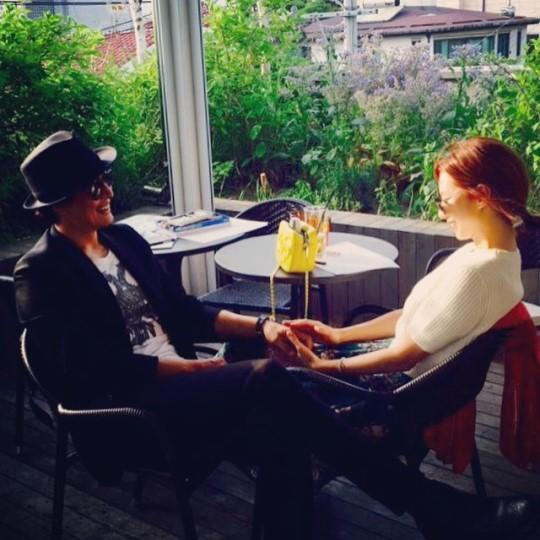 ¡Park Soo Jin y Bae Yong Joon están esperando su primer bebé!